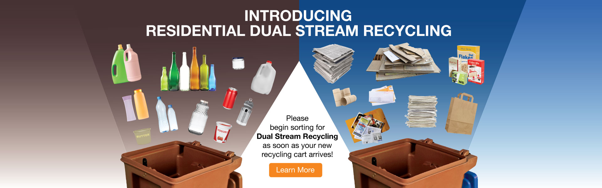 Introducing Residential Dual Stream Recycling