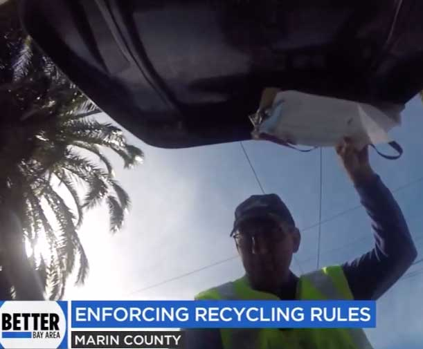 ABC 7 Recycling Contamination Story