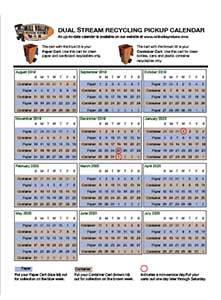 Dual Stream Pickup Calendar Thumbnail