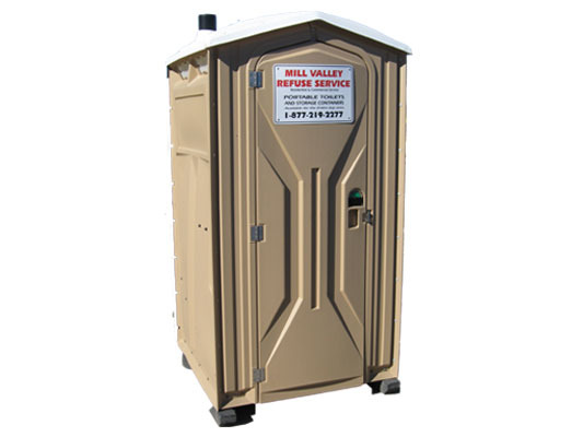 Standard Portable Toilet with hand sanitizer Rental