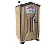 Portable Toilet with Hand Sanitizer Rental