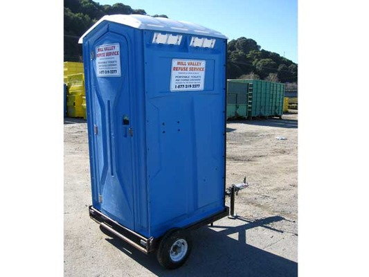 Trailer Mount Porta Potty Rental