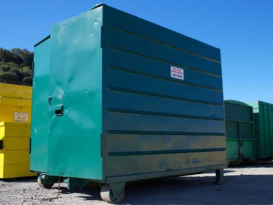 Small MVRS Container