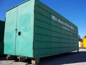 Large MVRS Storage Container for Rent
