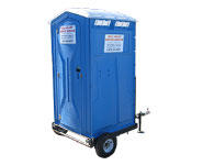 Trailer Mount Portable Toilet Rental