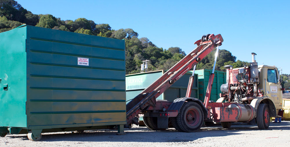 Storage Container Rental Truck