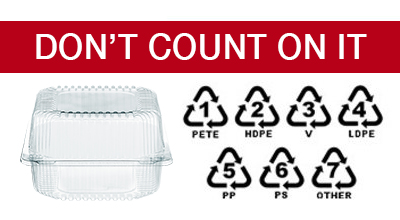 Don't Count on that Recycling Number