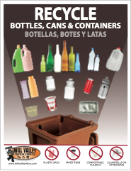 Mill Valley Refuse Container Recycling Poster Thumbnail