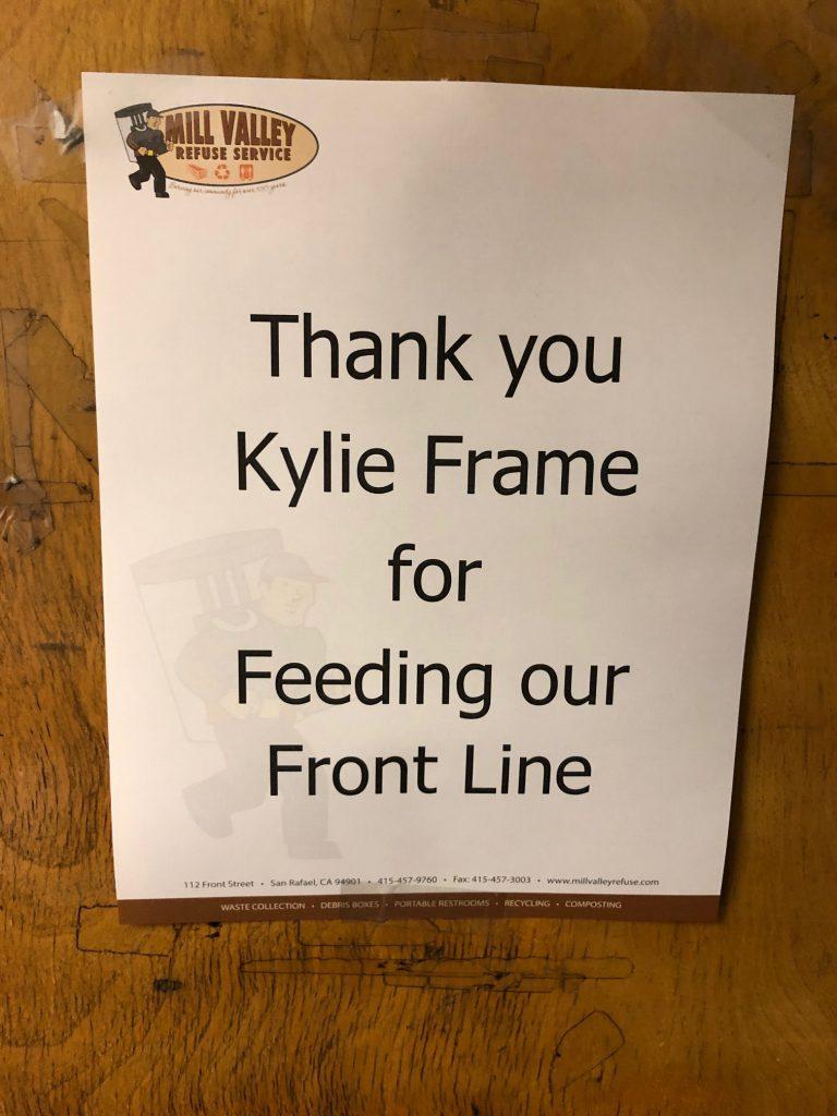 Thank you Kylie Frame!