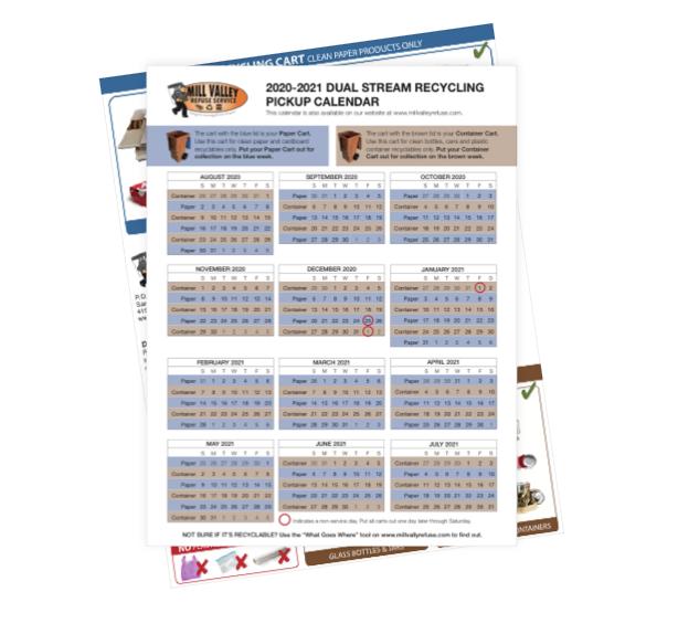 Dual Stream 20-21 Pickup Calendar