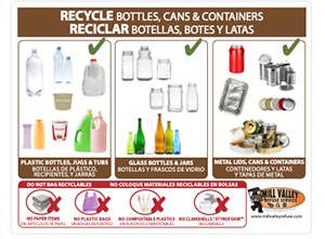 Container Recycling Cart Label