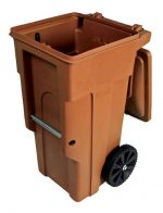 Mill Valley Refuse Container Recycle Cart